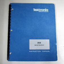 Tektronix 211 Oscilloscope Maintenance Manual (P/N 070-1160-00)