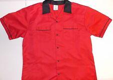 American Bowling brand shirt - Sz L - Red / Black Pristine Condition!