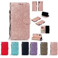 10pcs/lot Lace Flower Holster Flip PU Leather Case iPhone Samsung LG Nokia Moto