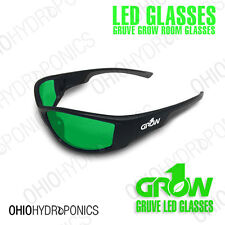 LED Glasses Grow1 GRUVE Grow Room Ultra Violet Eliminators STOP THOSE HEADACHES
