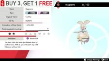 ✨ Magearna ✨ (White Form) EVENT MYTHICAL LEGENDARY Pokemon Sword and Shield