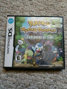 Pokemon Mystery Dungeon: Explorers of Time (DS, Complete, & Tested)