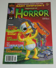 Bart Simpson's Treehouse of Horror #8 Bongo Comics NM 9.4 2002 Halloween Issue
