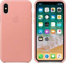 Apple Leder Schutzhülle für Apple iPhone X - Soft Pink