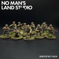 Pro Painted 28mm WW2 US Infantry Squad - 28mm 1/56 - Bolt Action