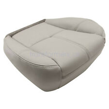 For 2007 2014 Chevy Silverado 1500 Driver Bottom Leather Seat Cover Gray 833