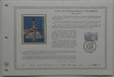 Document Artistique DAP 480 1er jour 1981 Salon de l'aéronautique et de l'espace