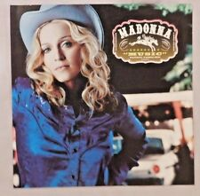 Madonna Music Maverick Poster Promo Doubled Sided
