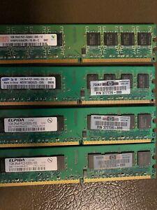 4GB PC2 5300 RAM WORKING