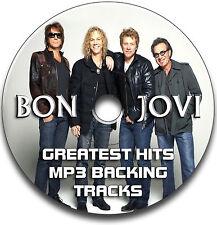 BON JOVI STYLE MP3 ROCK GUITAR BACKING TRACKS COLLECTION JAM TRACKS