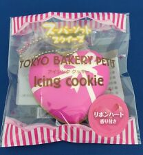 Squishy Tokyo Bakery Petit Icing Cookie(Ribbon Heart) Super Soft Squishy