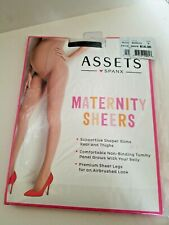 Assets Spanx Maternity Sheers Pany Hose Black New Size D