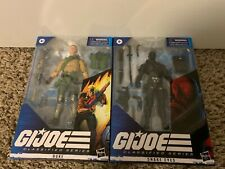GI JOE CLASSIFIED SNAKE EYES AND DUKE. IN BOX, NEVER OPENED!