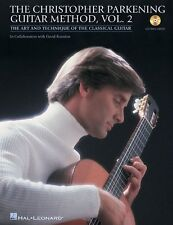 """""""The Christopher Parkening Guitar Method"""" Vol. 2 Music Book/Cd-Brand New On Sale"""