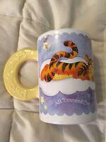 DISNEY WINNIE THE POOH PIGLET TIGGER SWEET DREAMS LARGE COFFEE CUP MUG!