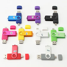 OTG 32GB USB + Micro USB 2.0 Flash PenDrive Memoria Memory Thumb U Disk Movíl PC
