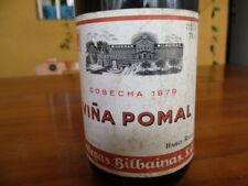 Wine Bodegas Bilbaínas Vine Pomal 1979 /