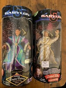 Limited Edition Collector's Series Babylon 5 poseable action figures NIP