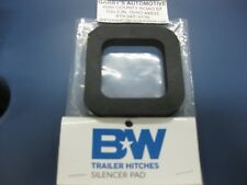 """B&W Silencer Pad Cushion Tow & Stow Hitch Receiver TS35020 2"""" Square"""