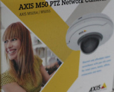 AXIS M5054 1MP/720p 5x Optical Indoor Compact 01079-001 Dome Network Camera NEW
