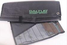 2 x SALTUS Werkzeug-Rolltasche 14 Fächer Schraubenschlüssel Ring Maul Tasche