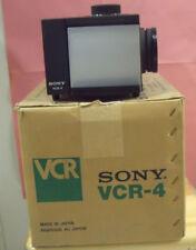 SONY VCR4 CONVERTITORE DA PELLICOLA 8MM A DVD O VHS O DIGITALE