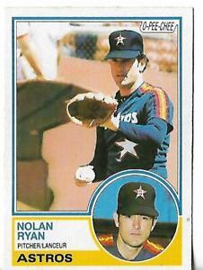 1983 OPC Baseball Card Nolan Ryan # 360