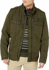 Levi's Men's Washed Cotton Two Pocket Sherpa Lined Military Jacket NWT Size L