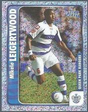PANINI CHAMPIONSHIP 2010- #266-QPR-MIKELE LEIGERTWOOD IN ACTION-STAR PLAYER-FOIL