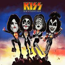 KISS-Destroyer Album Cover Caricature Heavy Metal Sticker or Magnet