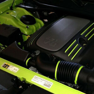 Dress Up Graphic Decal Kit fits Chrysler 300 2005-2020 5.7L V8 Hemi Engine