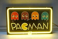 Pac Man Pac-Man 3D Carved Neon Sign Game Room Beer Bar Light -Fast Free Shipping