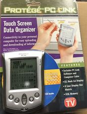Protege Pc Link Touch Screen Data Organizer 32K Memory