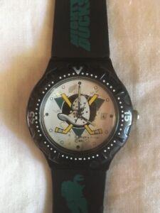 Vintage NHL Mighty Ducks Wristwatch
