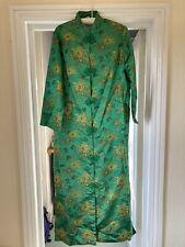 Japanese Kimono Green/Gold Thread