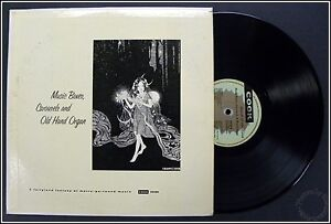 Music Boxes Carousels and Old Hand Organ, COOK 10120, 1950 NM Amber Vinyl Record