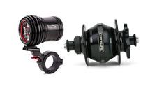 NEW Exposure Revo Dynamo Light & Disc Hub 32H 9mm QR strada six pack maxx d race