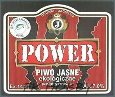 Poland Brewery Pokrówka Power Beer Label Bieretikett Etiqueta Cerveza pk2.3