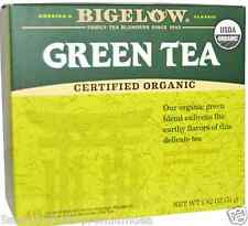 NEW BIGELOW ORGANIC GREEN TEA KOSHER PARVE ALL NATURAL HEALTHY ANTIOXIDANTS 51 g