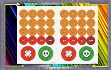 2 Boards Markers - Damages Pokemon New French