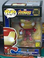 Marvel Avengers Infinity War Iron Man Light Up Pop #380 Vinyl Collectible Aus