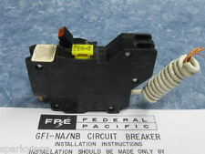 FEDERAL PACIFIC Stab-Lok 20 Amp GFI  BREAKER GFCI - Guaranteed - With Directions