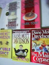EACH you pick food mysteries Diane Mott Davidson Colorado Goldy + Joann Fluke