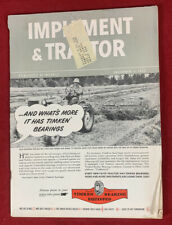 Implement & Tractor December 6, 1952 Vintage Farm Equipent Catalog