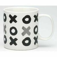 NEW Ecology XOX Hugs & Kisses Mugs 510ml - White FREE Post