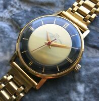 ✩ Vintage LUCH ☭ USSR 70s cal.2209 old wrist watch Gold Plated 23 Jewels
