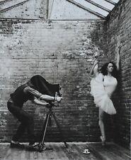 Mark Seliger Lavazza Promotional Photo Print 40x48cm In my stairwell Ballett B&W