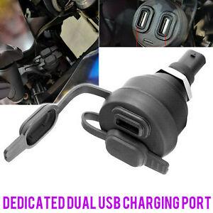 Doppio caricatore USB per presa DIN BMW R1200GS R1250GS F850GS