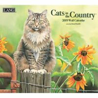 2019 Cats in the Country Wall Calendar, Cat Art by Lang Companies
