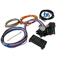 Car Truck 12Way 12V Circuit Universal Muscle Car Fuse Box Cable Wiring Harness